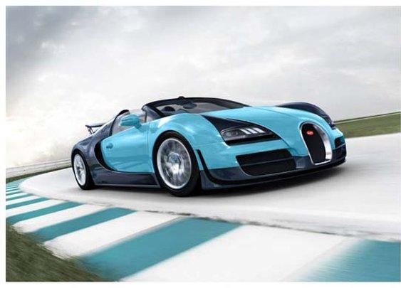 Bugatti Veyron Legend Jean-Pierre Wimille Revealed