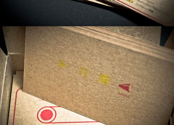 Eva Hsu Radio DJ Business Card Designed by Lee-Tzu Mao