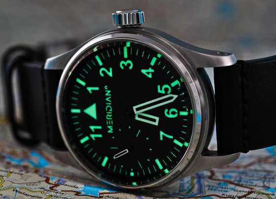 Meridian Prime MP-01 Watch | The Coolector