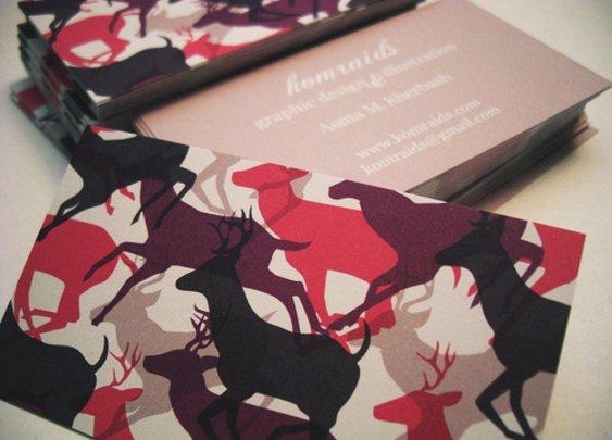 Komraids Business Cards Design