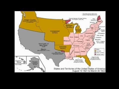Territorial Evolution of the United States