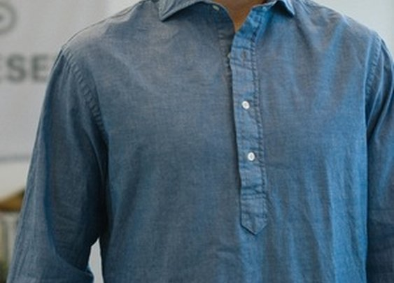 Denim Chambray Popover