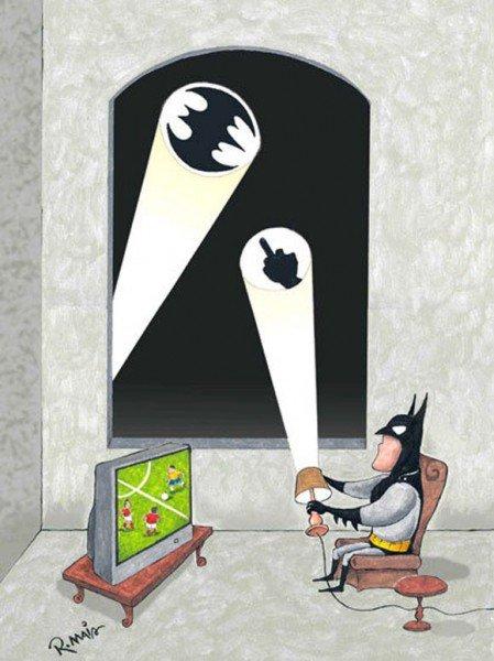 Batman's Night Off