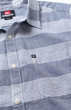 Tube Release Short Sleeve Woven Shirt