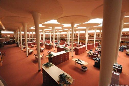 Did Frank Lloyd Wright create America's greatest office?