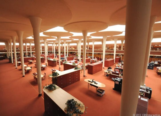 Did Frank Lloyd Wright create America's greatest office?