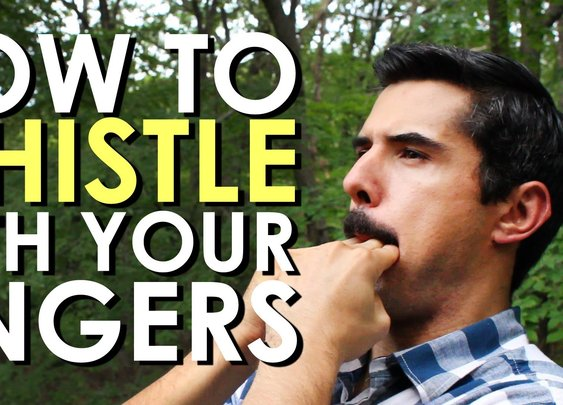 How to Whistle With Your Fingers | The Art of Manliness - YouTube