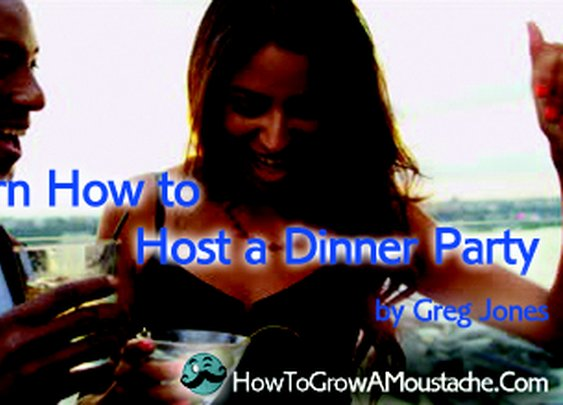 Learn How To Host A Dinner Party | With Cocktail Infographic