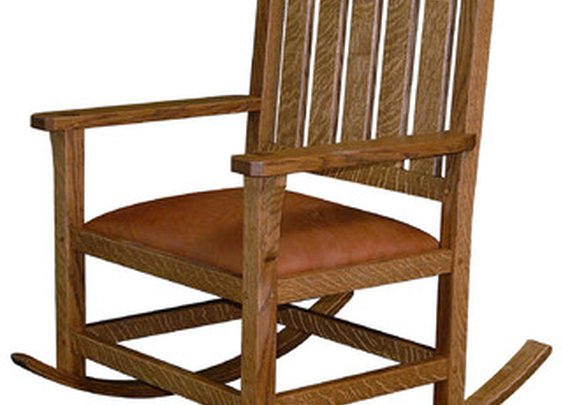 Arts and Crafts Rocking Chair -  by Pontillo Furniture Concepts
