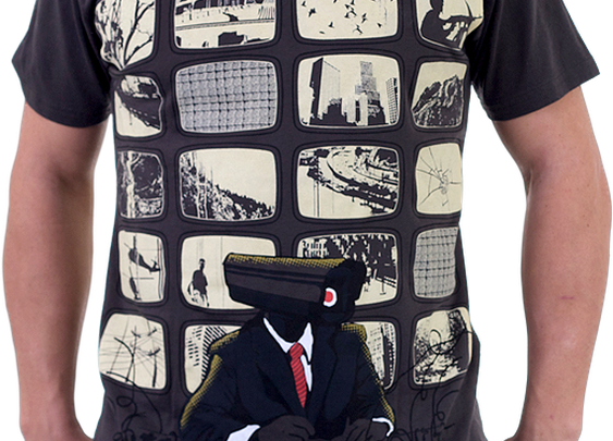 PPP (perversion Of Paranoid Populace) Shirt By Radiomode