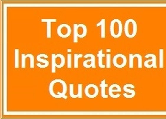Top 100 Inspirational Quotes - Forbes