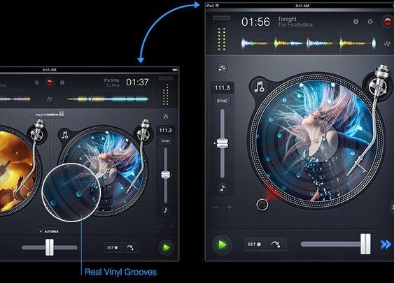djay2 for iPad