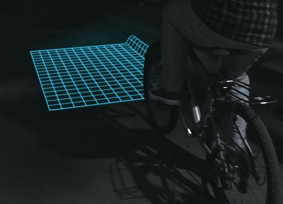 Lumigrids While Cycling | The Gadget Flow