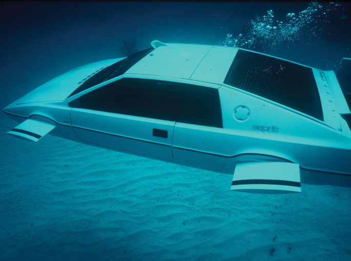 James Bond's  Lotus Submarine Car Found and Going To Auction