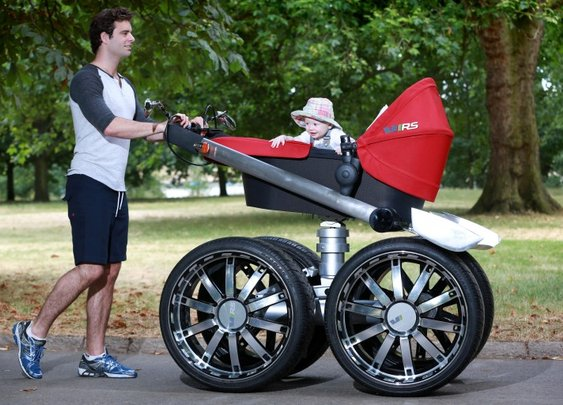 Skoda makes the baby stroller more manly  - Images