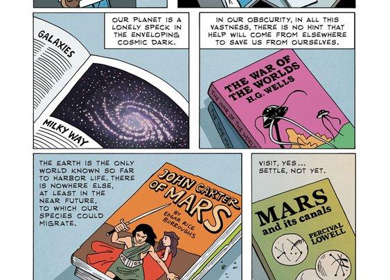 Zen Pencils   Carl Sagan: Pale Blue Dot