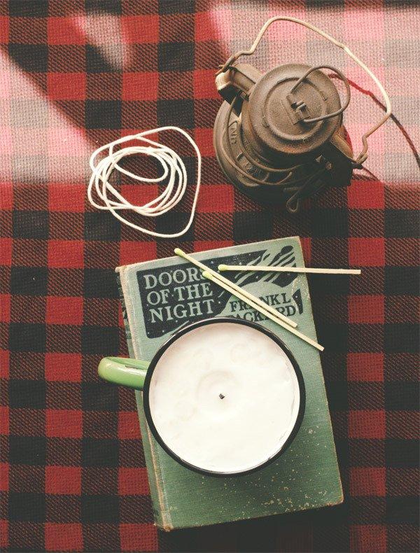 How to: Make DIY Rustic Masculine Candles   Man Made DIY   Crafts for Men   Keywords: craft, diy, outdoor, men