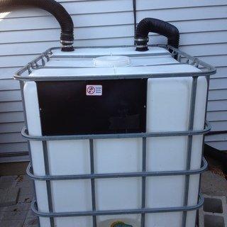 Heavy Duty 275 Gallon RAIN BARREL