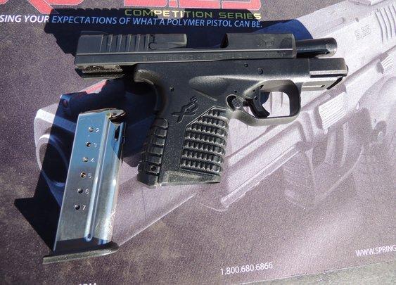 Springfield XDs 9mm | The Firearm Blog