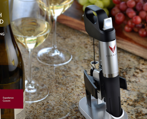 The Coravin: A new way to preserve wine. This may be the most important thing to happen to wine since the cork. | Food Republic
