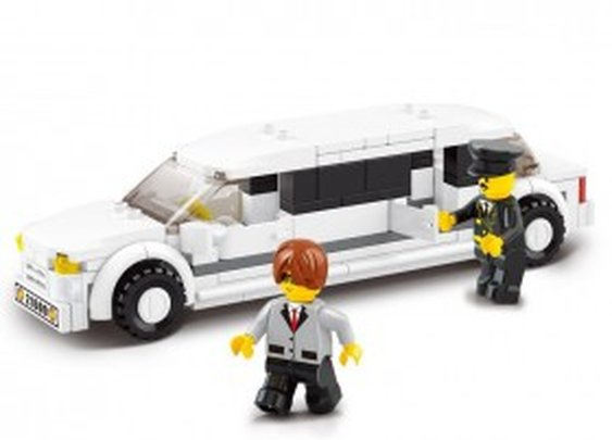 VIP Stretch Limousine - LEGO Compatible
