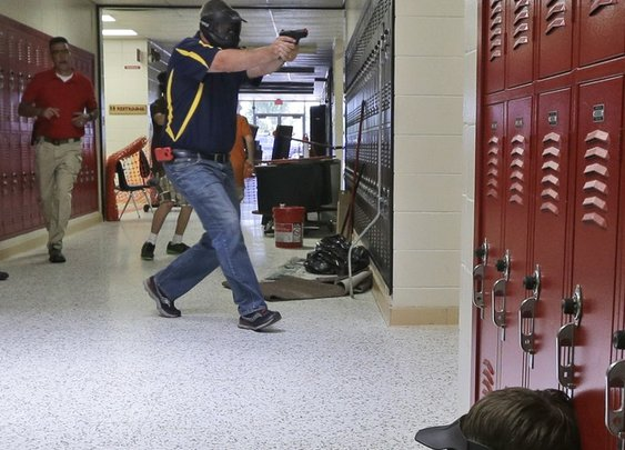Guns in school: Ark. district arming more than 20 teachers, staff - U.S. News