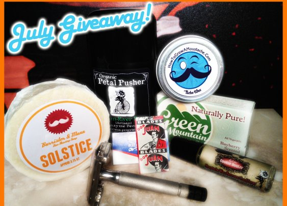 July Giveaway from How to Grow a Moustache! | How to Grow a Moustache