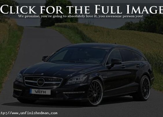 Vath Vader - 834HP Mercedes CLS Shooting Brake by Vath - Unfinished Man