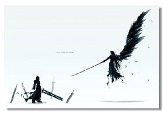 Final Fantasy VII - Silk Print
