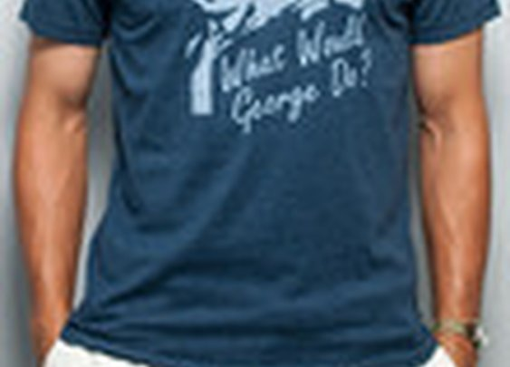 What Would George Do? Vintage Tee | Rowdy Gentleman