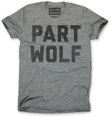Part Wolf Mens T-shirt from Buy Me Brunch