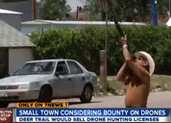 Town Considers Bounty on US Drones