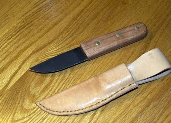 How To Make a Knife From an Old Saw Blade | The Art of Manliness
