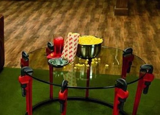 Cool Pipe Wrench Table