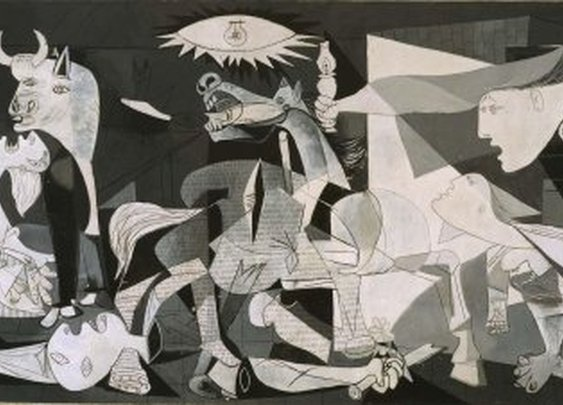 A 3D Tour of Picasso's Guernica