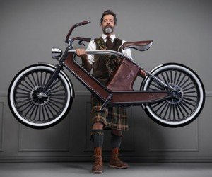 The Cykno Electric Bicycle, Perfect for Your Steampunk Adventures