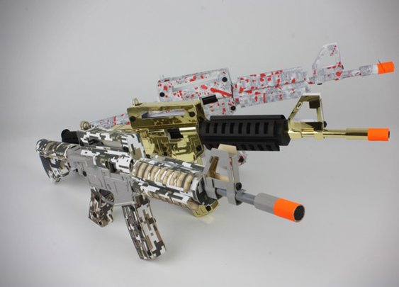 Paper Shooters Cardboard Assault Rifles