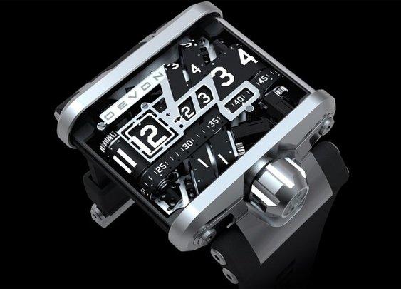 Devon Tread 1, a Remarkable Timepiece  | Baxtton