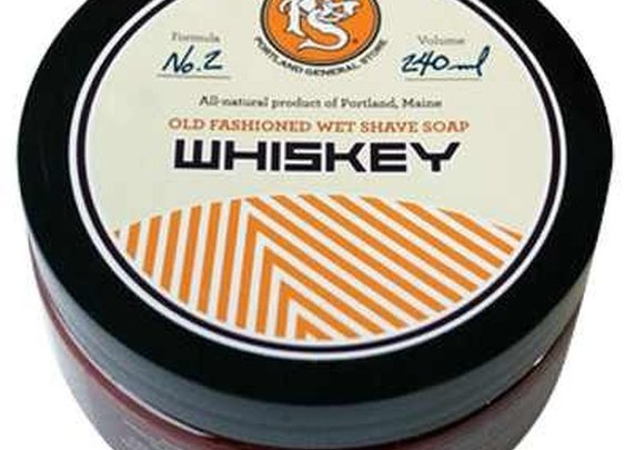 Portland General Store Whiskey Shaving Soap