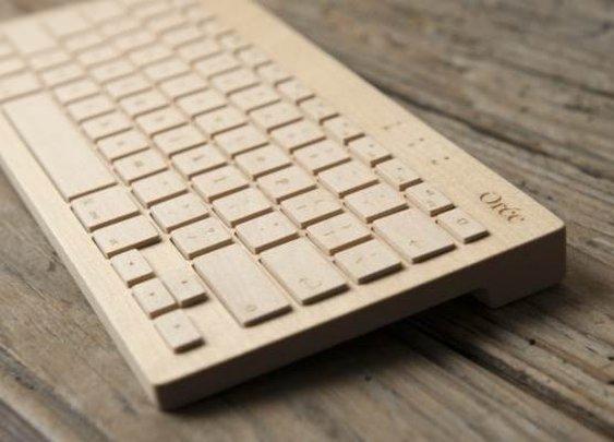 Superb Wooden Keyboards by Orée | Baxtton