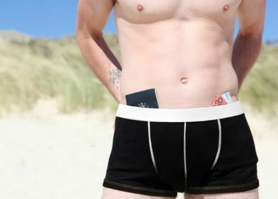 Adventure Underwear adds pockets to protect your valuables