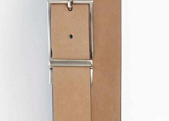 Reversible Nubuck Leather Belt