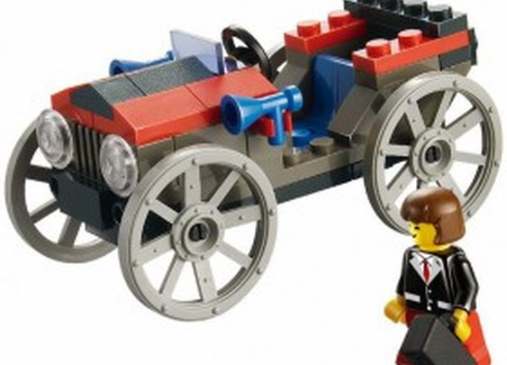 Classic Automobile - LEGO Compatible Set