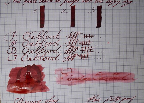 FPGeeks | Inkcyclopedia: Diamine Oxblood