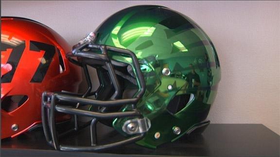 Behind the scenes of college football's latest uniform craze - ESPN