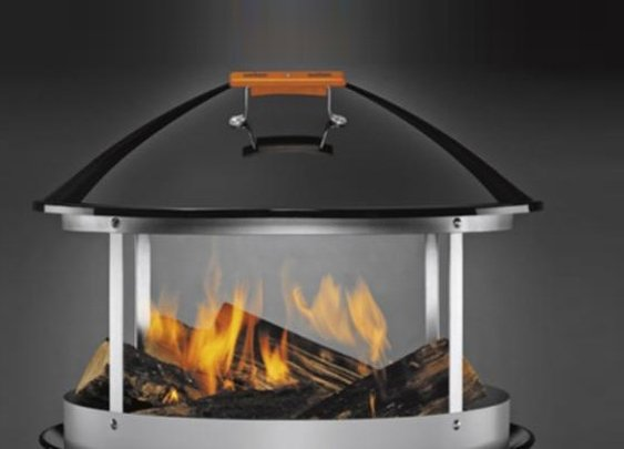 Weber Portable Wood Fireplace  | Baxtton