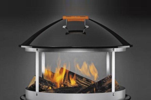 Weber Portable Wood Fireplace    Baxtton