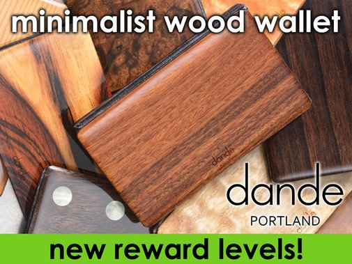 dande minimalist wood wallet by Dan Garfield — Kickstarter