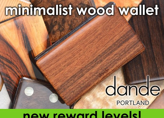 dande minimalist wood wallet by Dan Garfield — Kickstarter