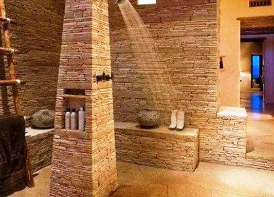 Natural Stone Bathroom Design Ideas, natural stone bathtubs, Pictures